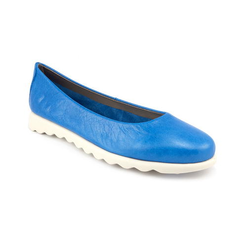 The FLEXX - CHA CHA CHA/KEAN  藍色 別緻鞋面 牛皮 娃娃鞋 (C122_08_194177)