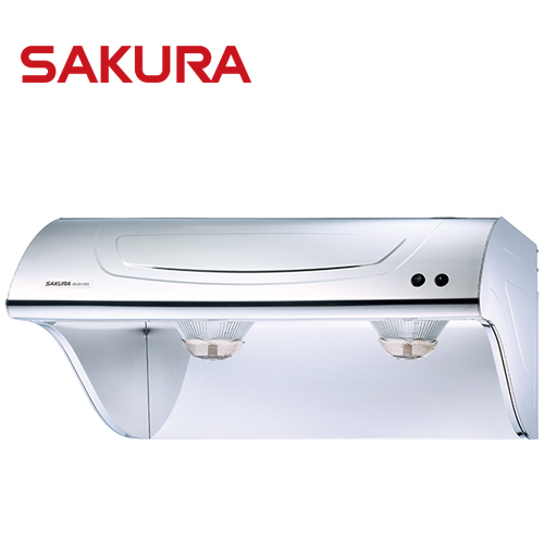 【促銷】櫻花SAKURA 90CM斜背式高速雙渦輪除油煙機 R-3261SXL/R3261SXL 送安裝