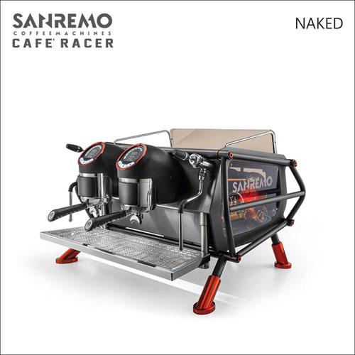 SANREMO CAFE RACER NAKED 雙孔營業用咖啡機-透視版-220V (HG1366)