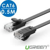 綠聯 0.5M CAT6網路線 FLAT版