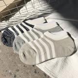 【nata】棉質條紋船型襪
