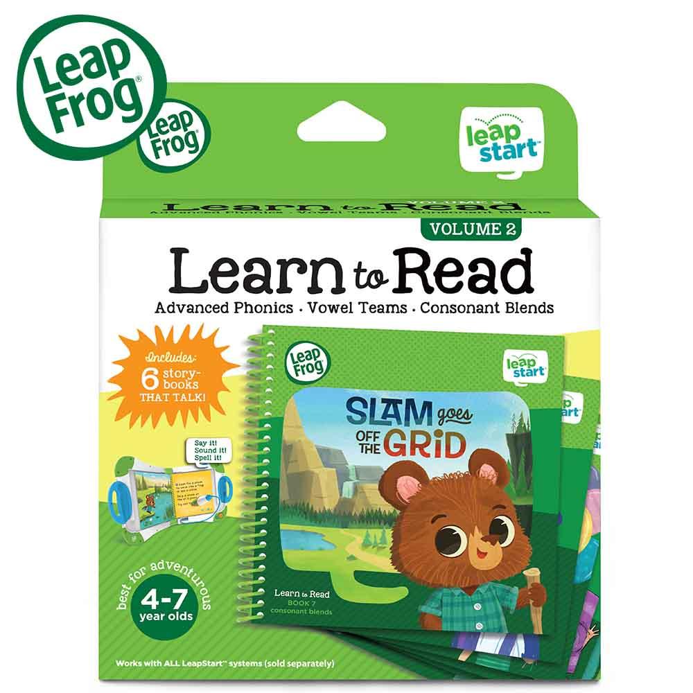 《美國LeapFrog 跳跳蛙》LeapStart  Books:行動閱讀套組2