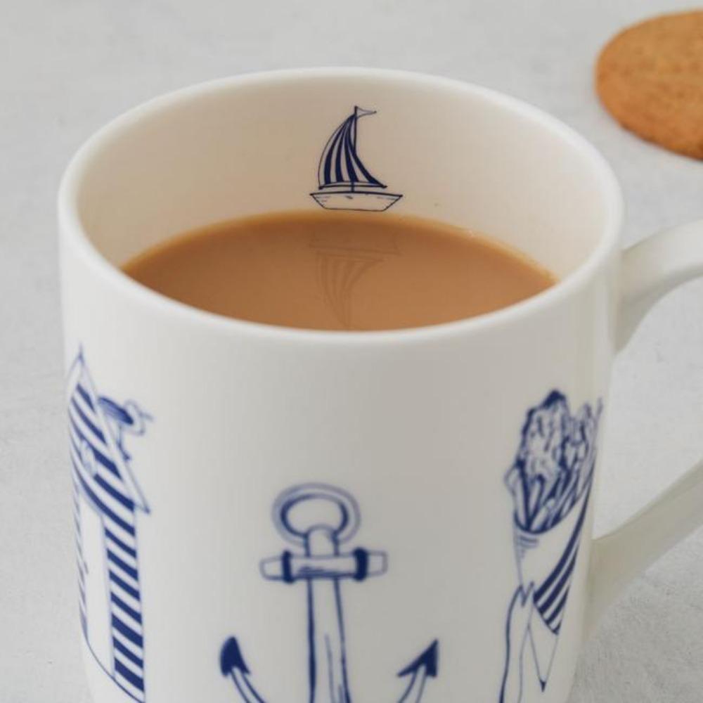 英國蛋 馬克杯│經典航海