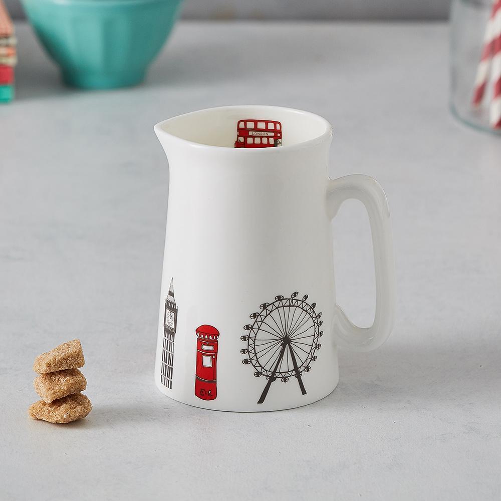 英國蛋 牛奶杯│倫敦天際線