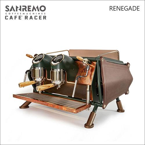SANREMO CAFE RACER RENEGADE 雙孔營業用咖啡機-皮革版-220V (HG1368)
