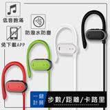 【SOYES】智能計步IPX4防汗防水運動藍牙耳機BT6(公司貨)