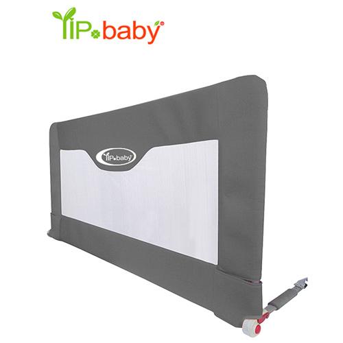 YIP-baby 兒童用床邊護圍110*70cm(灰色/紅色)