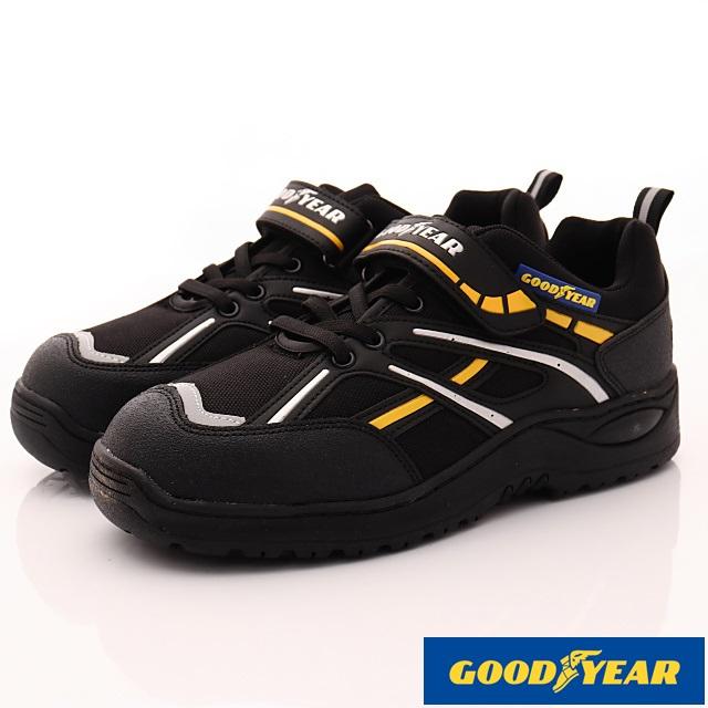GOODYEAR-鋼頭工作鞋-MX83970黑-男段-(25-29cm)