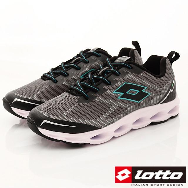 Lotto義大利運動鞋-風動緩震跑鞋-MR6638灰綠-25.5-29cm
