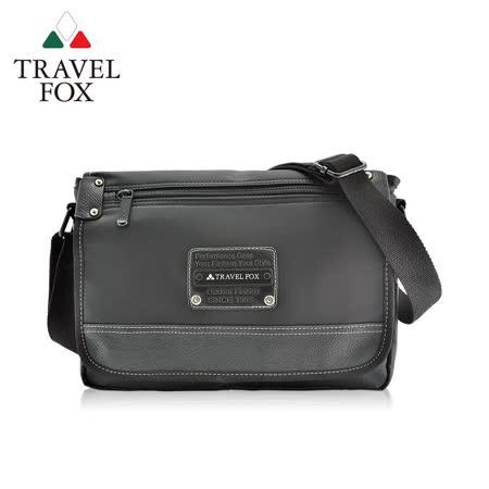 TRAVEL FOX 旅狐 都會質感車縫斜背包
