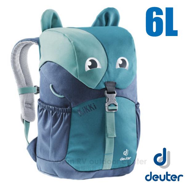 【德國 Deuter 】Kikki 6L 可愛動物造型 輕量透氣兒童背包/3610519 藍/深藍