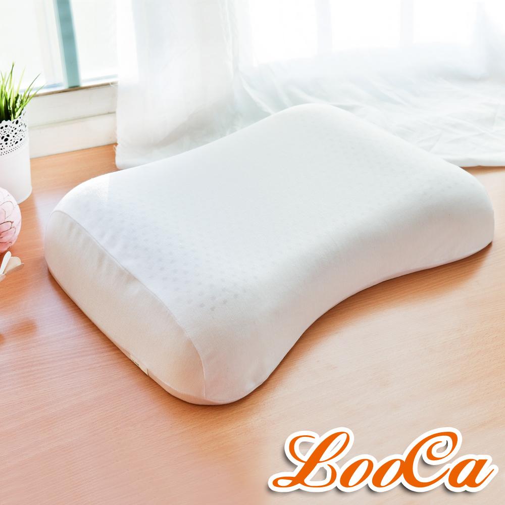 LooCa 全波形乳膠舒眠枕(2入)