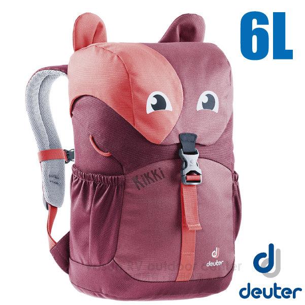 【德國 Deuter 】Kikki 6L 可愛動物造型 輕量透氣兒童背包/3610519 紅/深紅