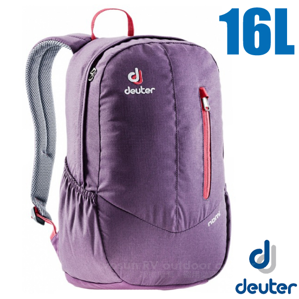 【德國 Deuter】Nomi 16 輕量拔熱城市型舒適後背包_3810018 紫
