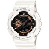 CASIO卡西歐G-SHOCK復古重機裝置運動腕錶 GA-110RG-7A-白 GA-110RG-1A-黑