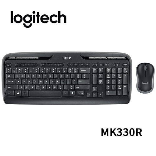 羅技 Logitech MK330R 無線鍵鼠組 鍵盤滑鼠組