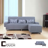 【COUCH】閒暇時光L型沙發組