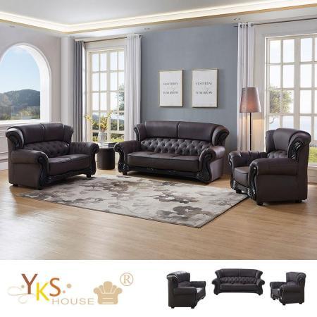 TAISH 法式1+2+3獨立筒沙發