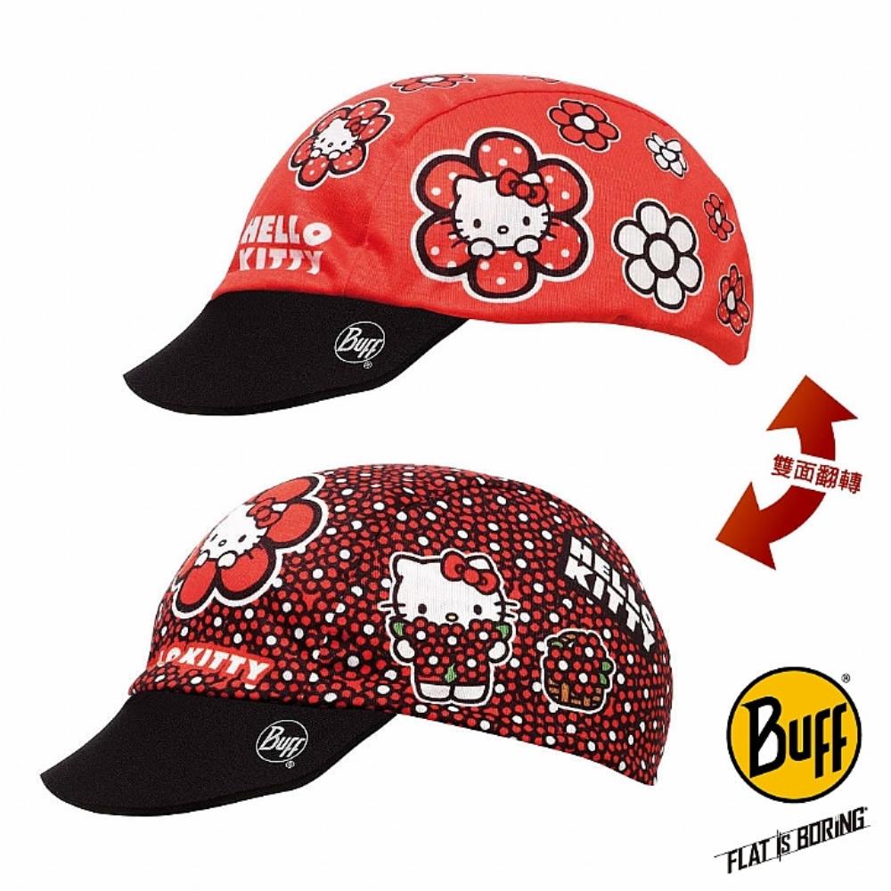 BUFF 花花KITTY 兒童雙面遮陽帽