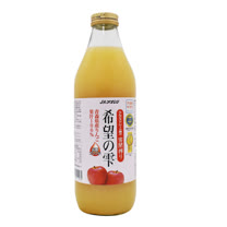 (箱購4入)青森農協 希望之露蘋果汁 1L