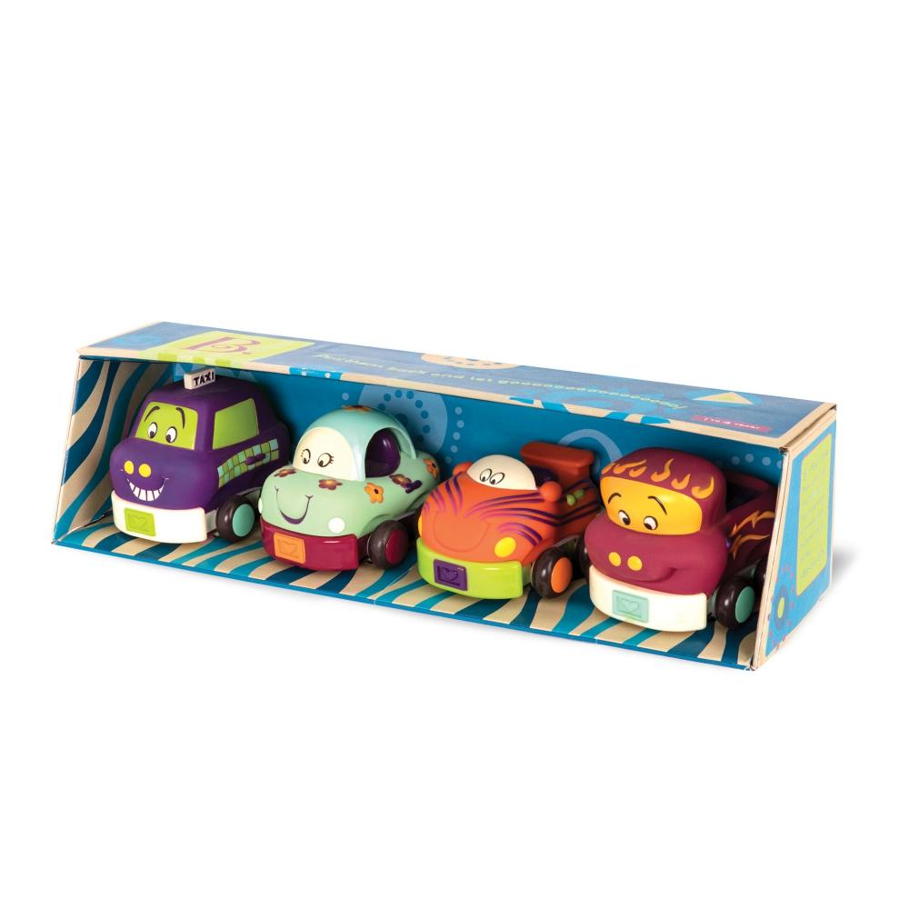 美國【B.Toys】寶寶迴力車(芽綠)