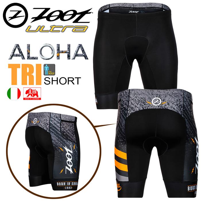ZOOT ALOHA 超低水阻7吋鐵人褲(男款)