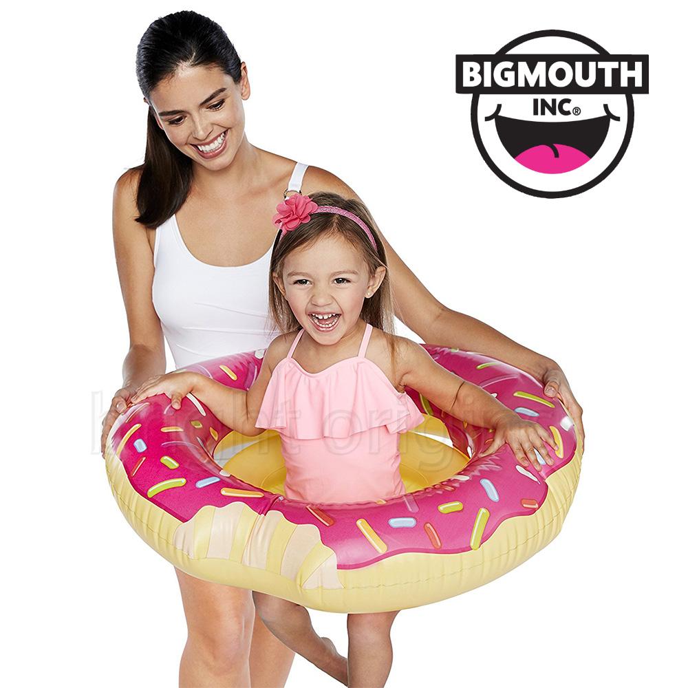 美國 Big Mouth 兒童造型游泳圈 草莓甜甜圈款