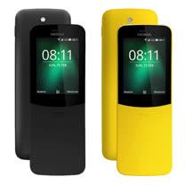 Nokia 8110(香蕉機)4G直立式手機 滑蓋超長續航手機