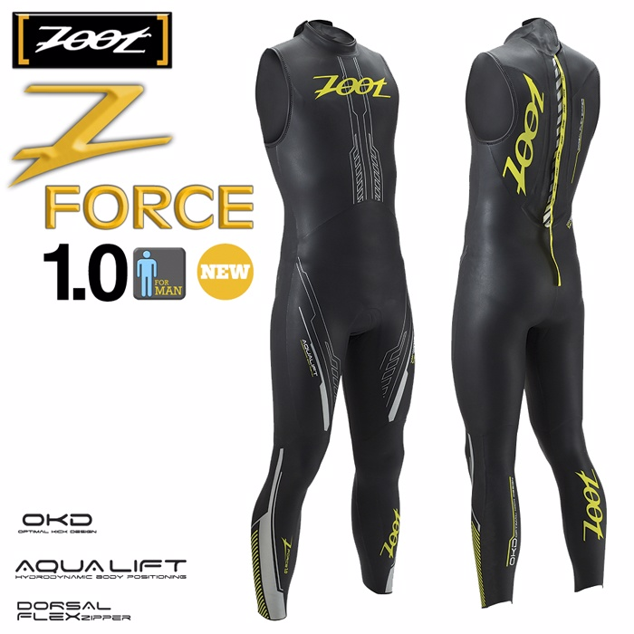 ZOOT Z FORCE 1.0 SL C38 無袖 專業三鐵防寒衣(男)