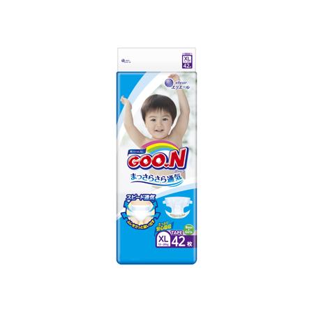 《GOO.N》日本大王紙尿褲境內版(XL/ 42片*4包)