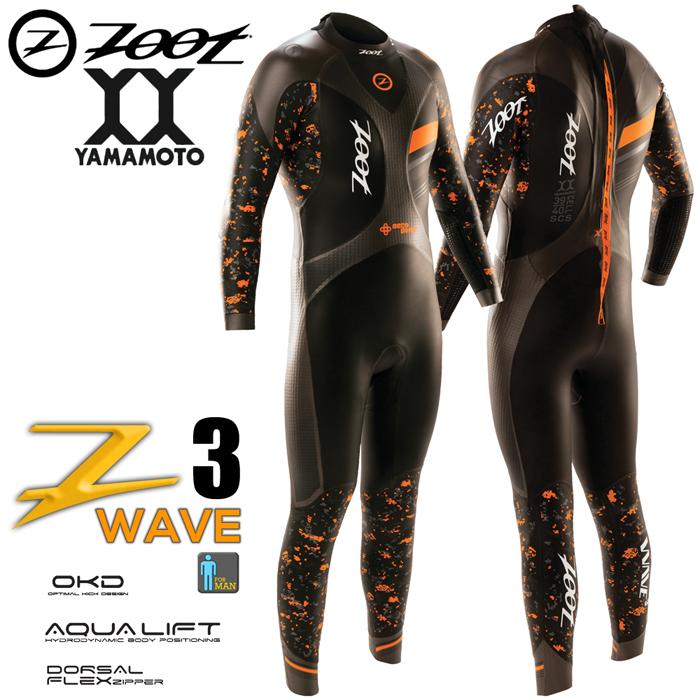 ZOOT Wave 3 虎鯊長袖防寒衣(男)