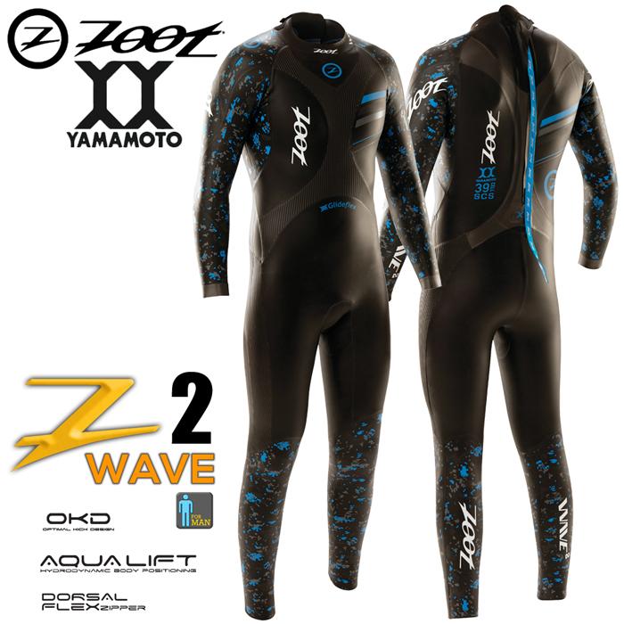 ZOOT Wave 2 藍鯨長袖防寒衣(男)