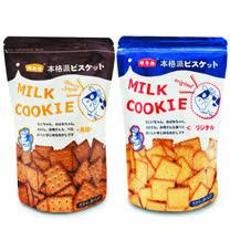 (箱購12入)本格派黑糖餅6入+本格派牛奶餅6入