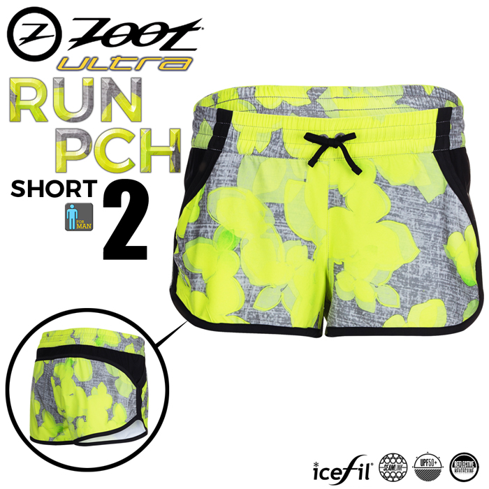 ZOOT 頂級冰涼感2吋跑褲(女)-檸檬黃