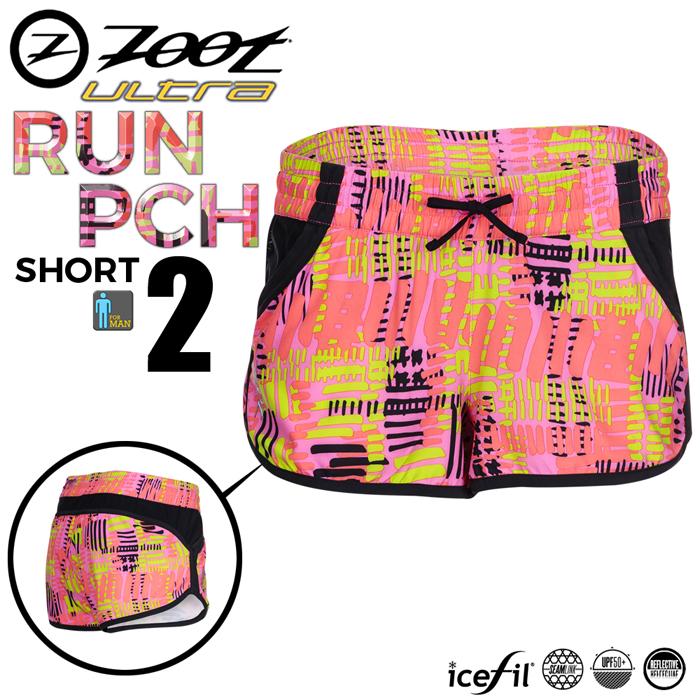 ZOOT 頂級冰涼感2吋跑褲(女)-夢幻粉