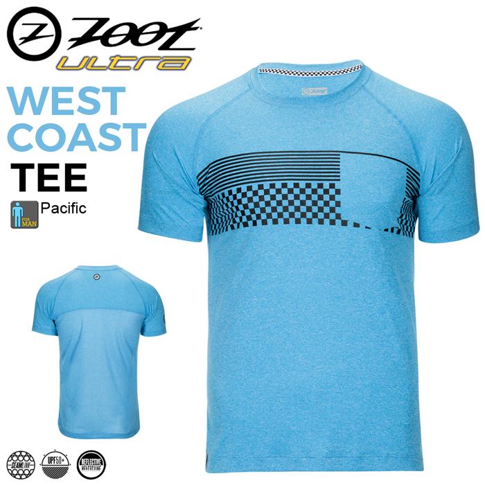 ZOOT 頂級輕羽吸排運動上衣(男)-格紋藍