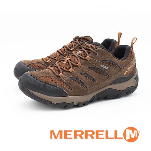 MERRELL(男) WHITE PINE GORE-TEX防水專業功能健行登山 男鞋-咖(另有藍) #ML12473