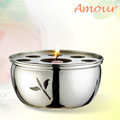 Amour 不鏽鋼保溫爐-附隔板 (HG2887)