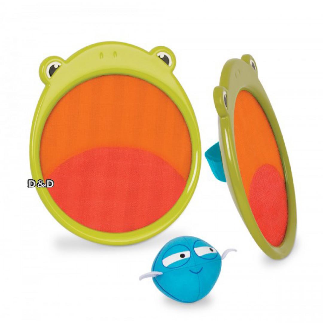 《美國 B.toys 感統玩具》蟲蟲捕手-青蛙小隊/鯊魚小隊 2入(可選)