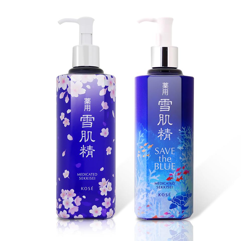 KOSE 高絲 藥用雪肌精化妝水500ml (珍愛海洋版/緋櫻限定版) 任選一件