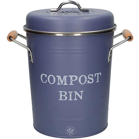 英國CreativeTops<BR>雙柄廚餘收納桶