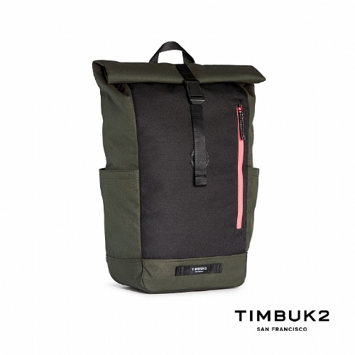 TIMBUK2 TUCK PACK 捲式電腦後背包(20L) (綠黑)