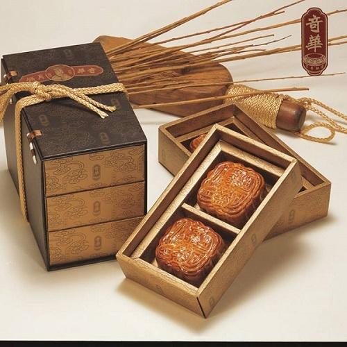 奇華 極品金袍錦盒 (6入/盒 三層錦盒 附提袋)