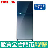 (1級能效)TOSHIBA東芝510L雙鏡面門變頻冰箱GR-AG55TDZ(GG)含配送到府+標準安裝