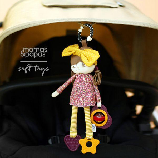 【Mamas & Papas】多莉娃娃(搖鈴吊飾玩偶)
