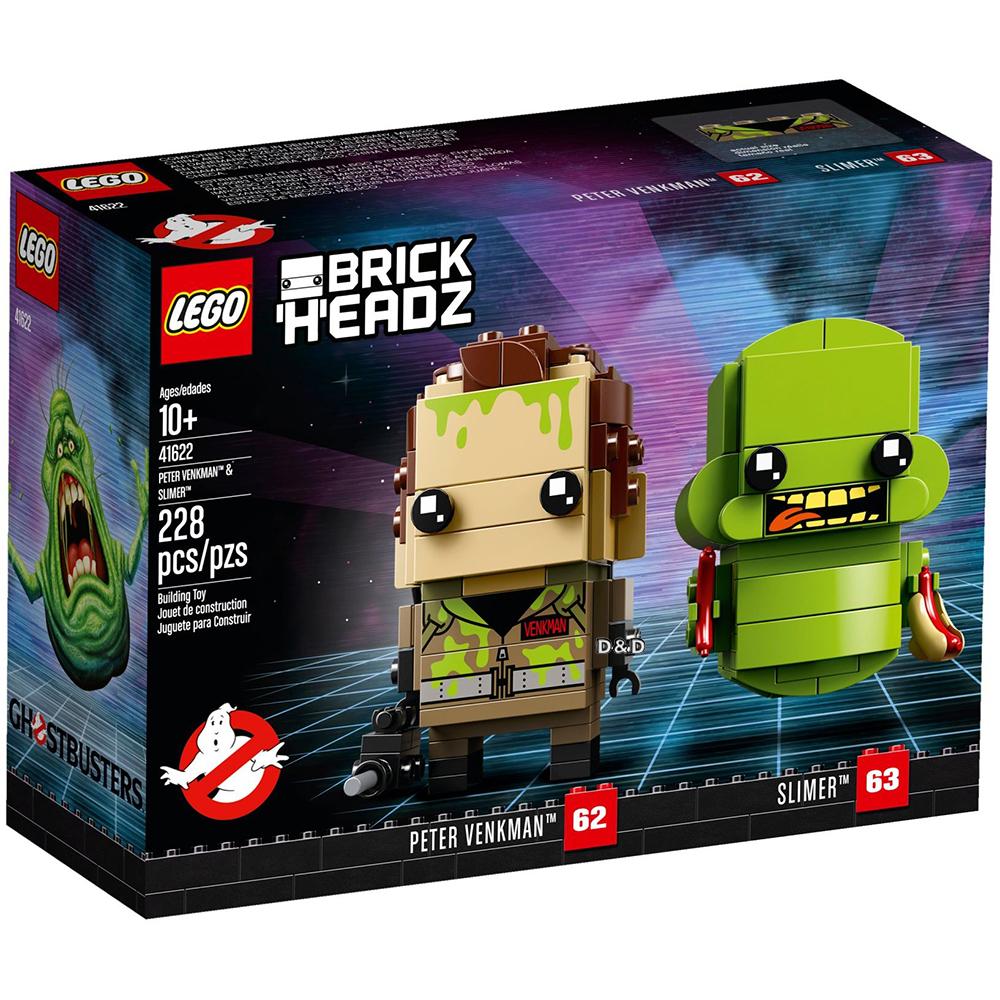 樂高積木 LEGO《 LT41622 》Brickheadz 積木人偶系列 - Peter Venkman™ & Slimer™