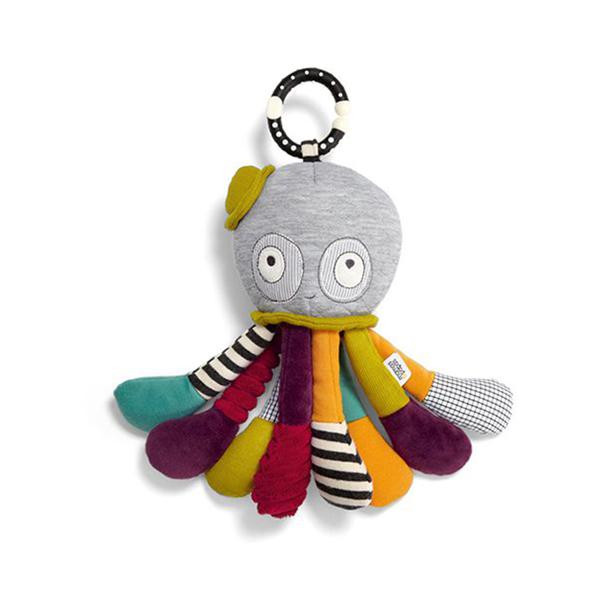 【Mamas & Papas】襪子章魚(搖鈴吊飾玩偶)