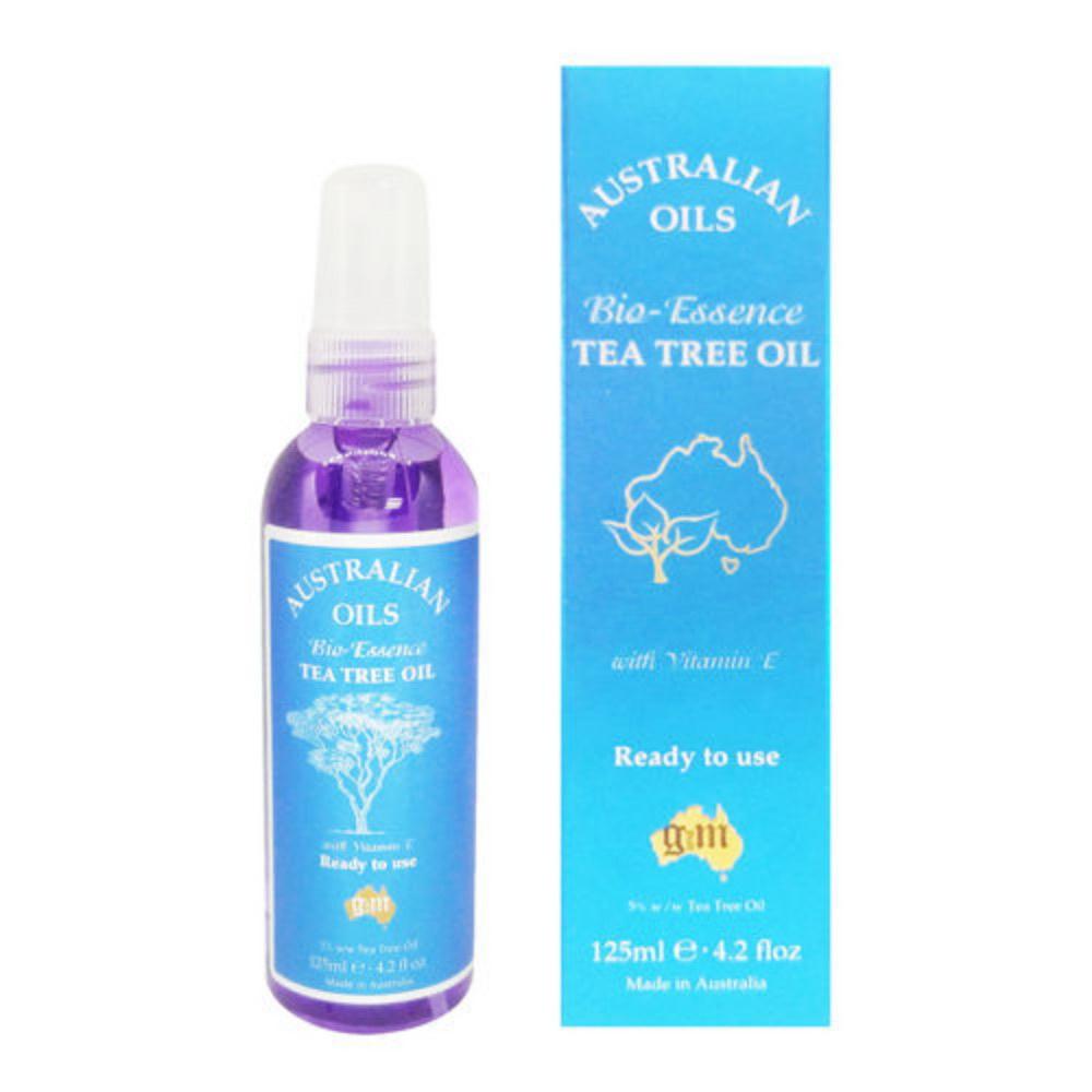 澳洲G&M 茶樹油生物滋潤精油含維他命E Tea Tree Oil 125ml