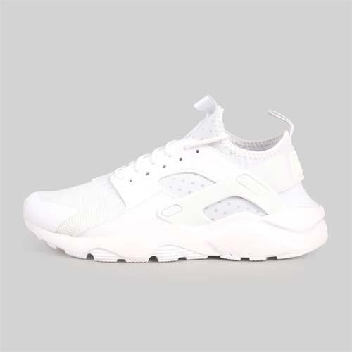 (男) NIKE AIR HUARACHE RUN ULTRA 運動休閒鞋-慢跑 路跑 白