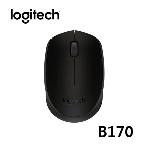 Logitech 羅技 B170 無線滑鼠 黑色